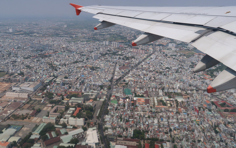 Flying out of Saigon