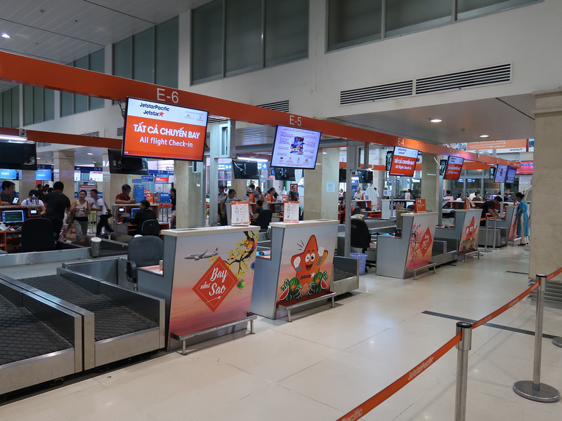 Jetstar domestic check-in