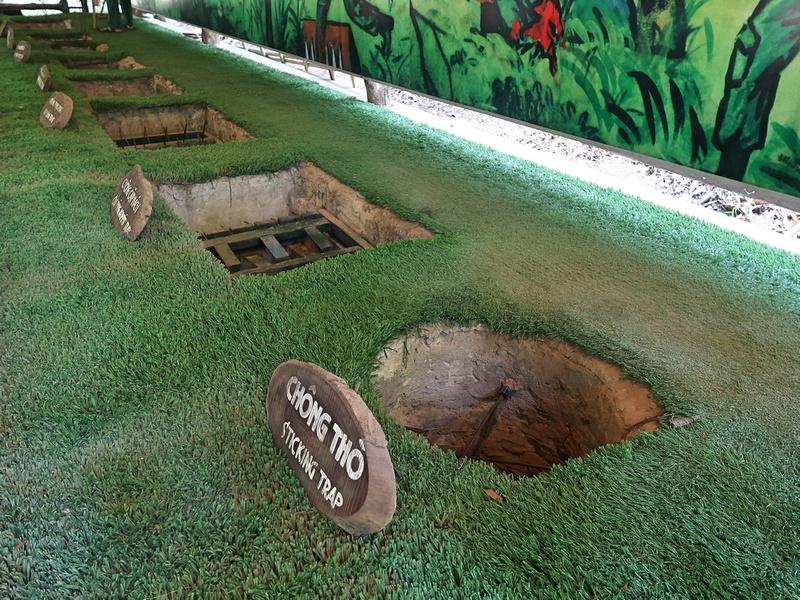 Booby trap exhibit