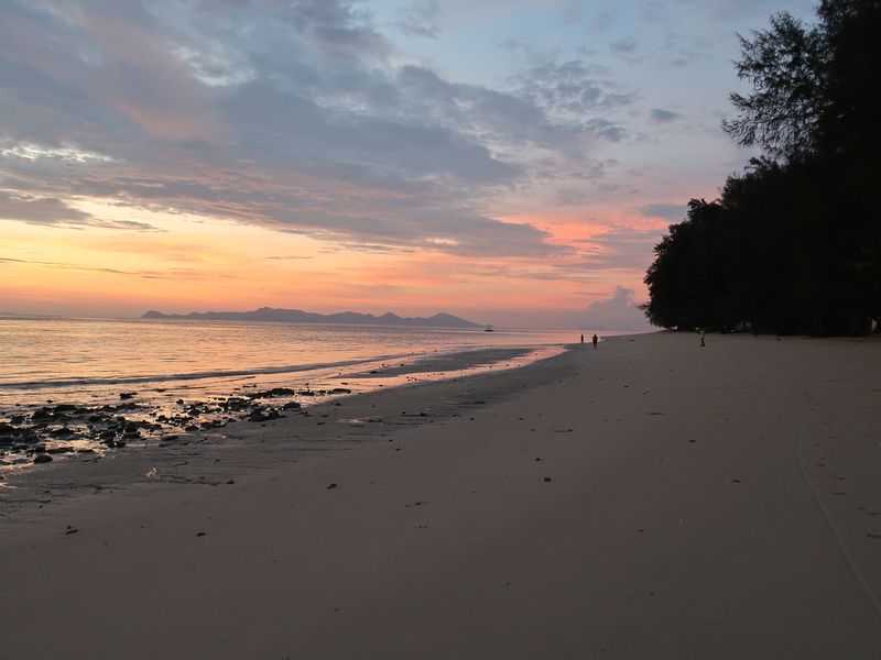 Sunrise at Koh Kradan