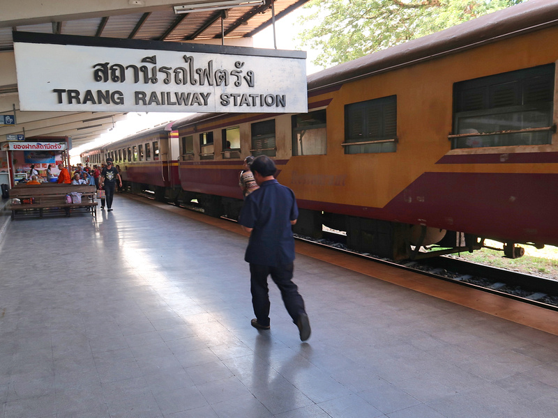 Bangkok to Trang by train, and onward connections to the Trang Islands