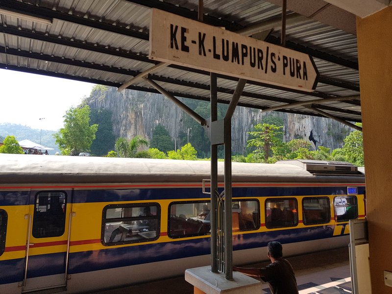 Gua Musang to KL and Singapore