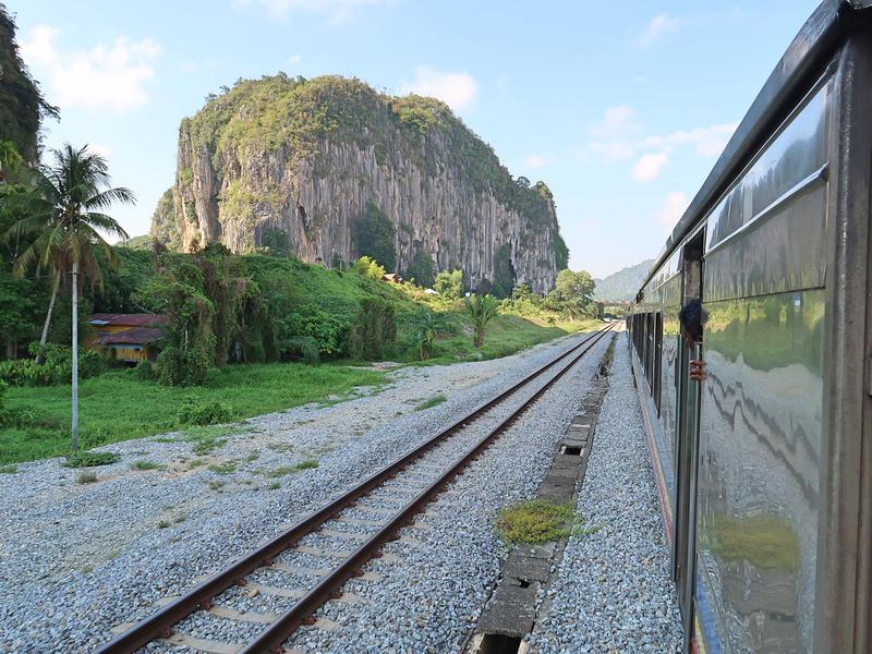 Arriving Gua Musang