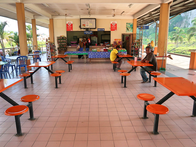Gua Musang station cafe