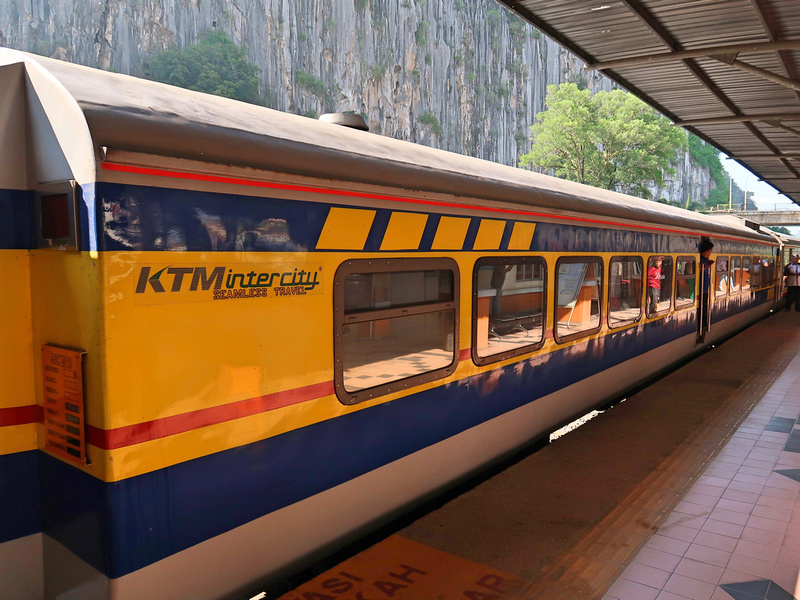 Sleeper train at Gua Musang