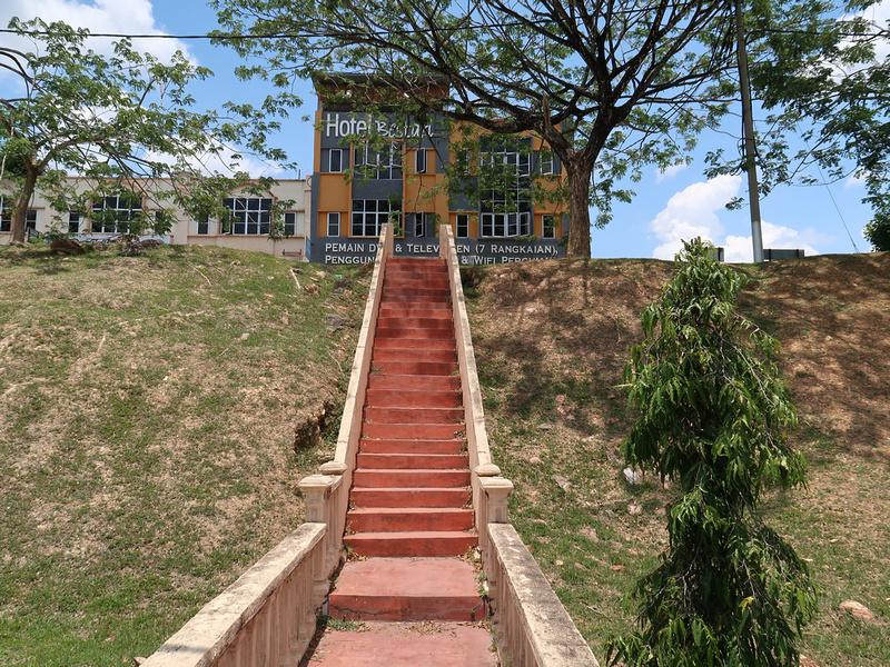 Stairs to Hotel Bestari