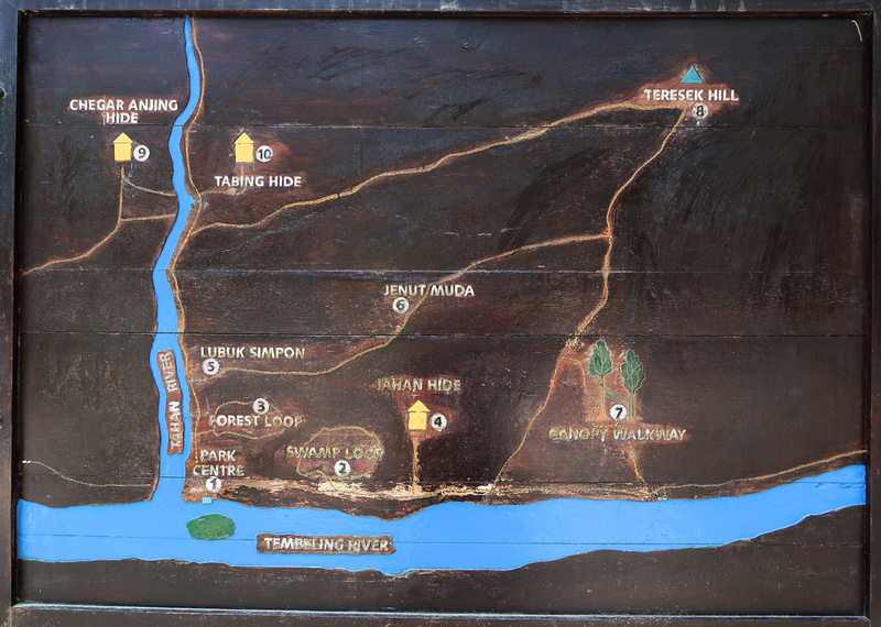 Map of Teresek Trail