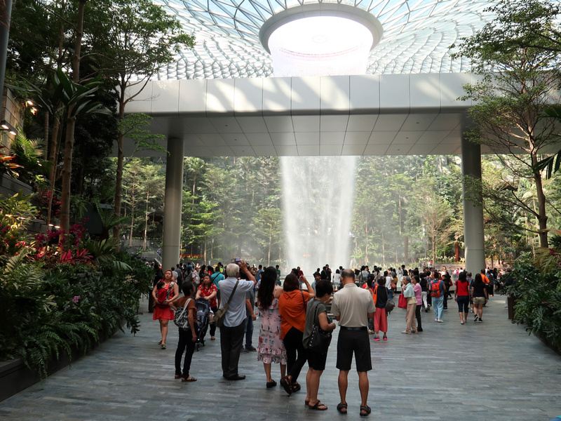 First view of Jewel Changi