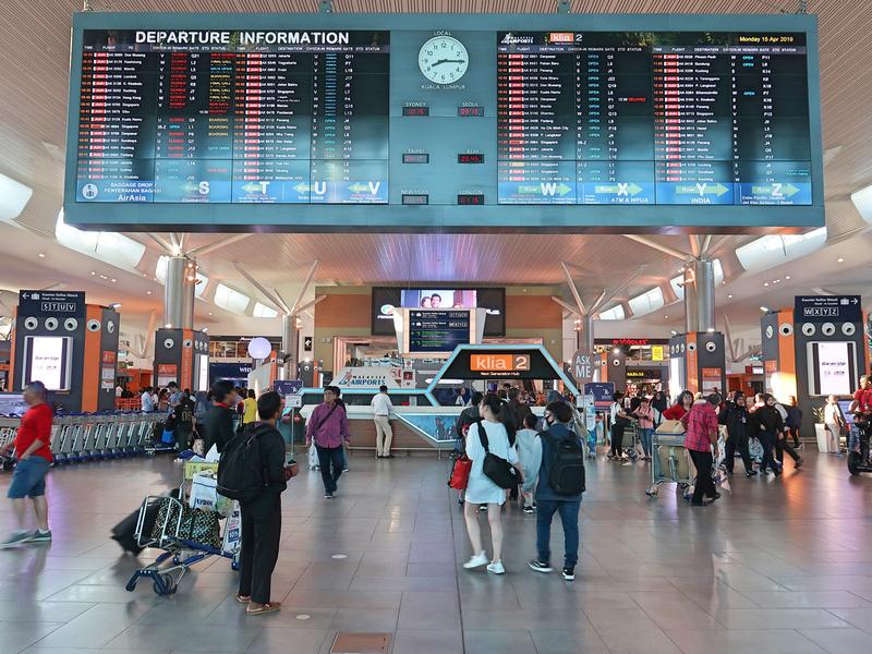 KLIA2 Departures