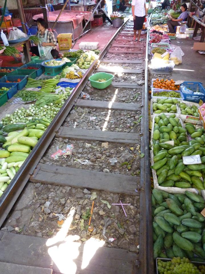 Market - Maeklong Thailand