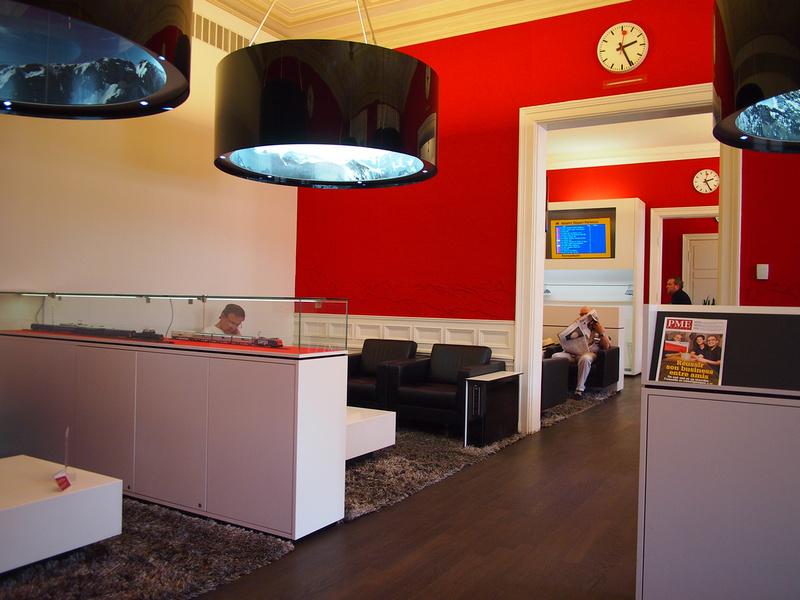 SBB Lounge, Zurich - Switzerland