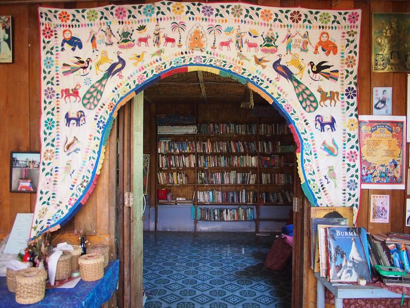 Baan Namcha library