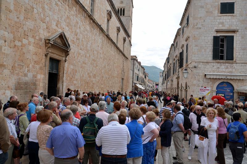 Dubrovnik crowds