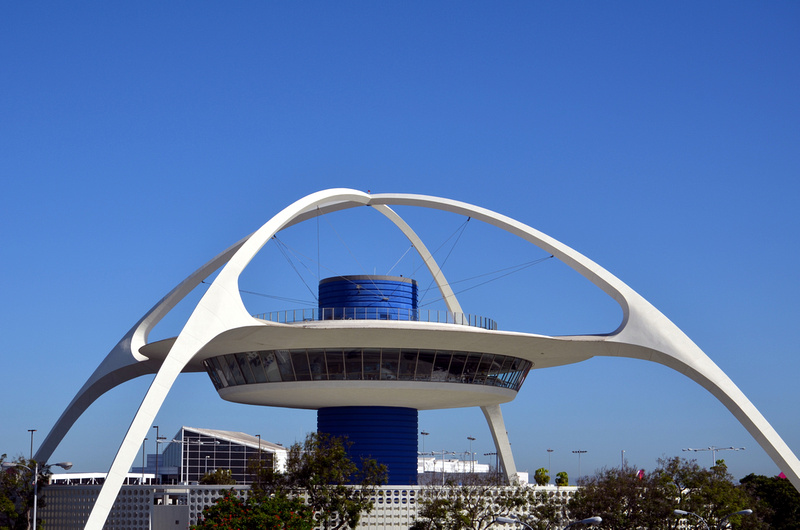 Theme Building at LAX, Los Angeles - USA