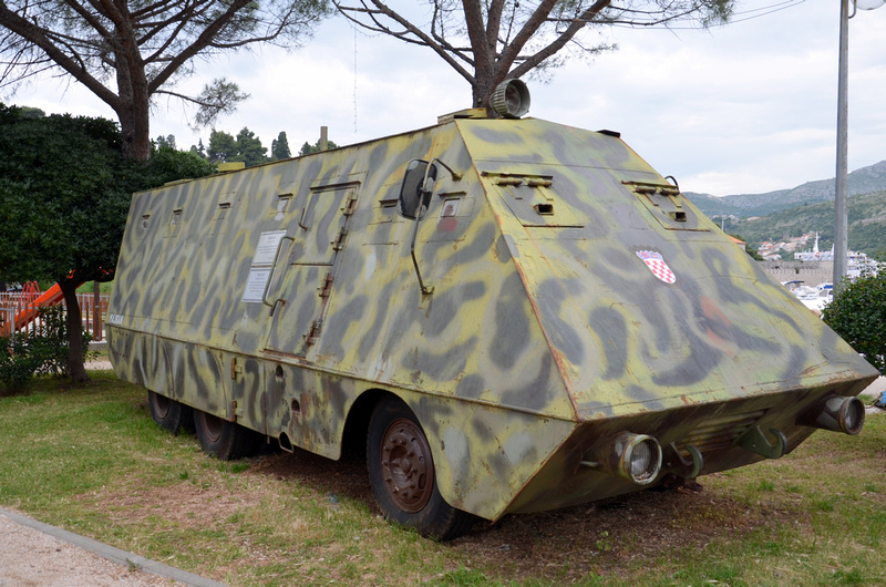 Armoured vehicle - Dubrovnik