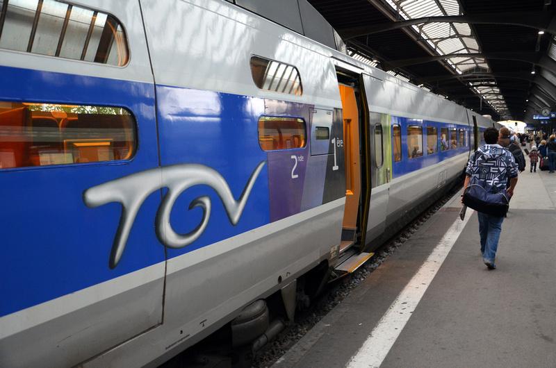 TGV Train - France