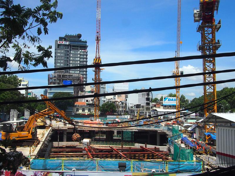 Spirit of Saigon basement construction