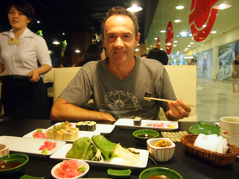 Sushi lunch - Ho Chi Minh City