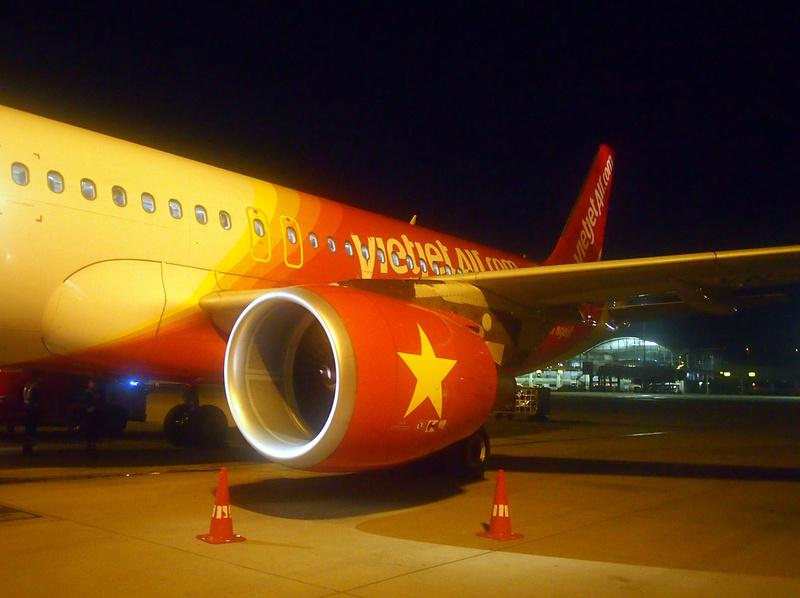 VietJet Air at HKG