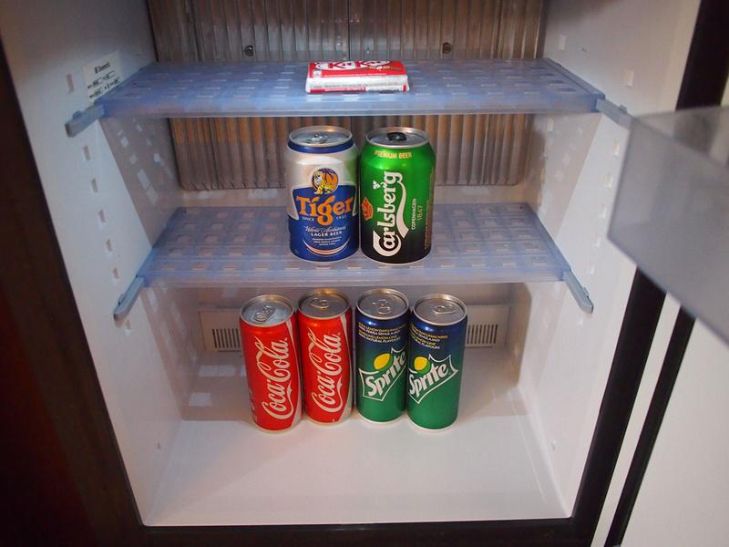 Free mini-bar items