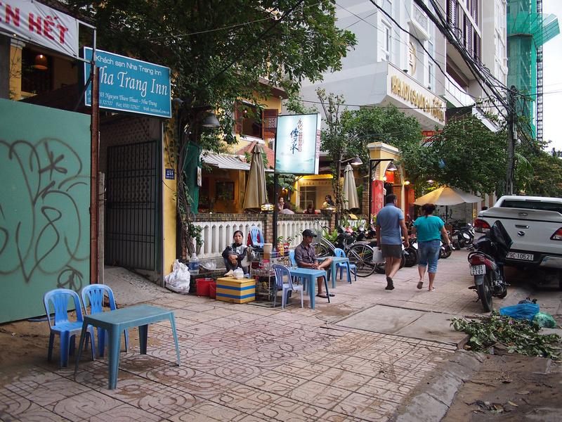 Nha Trang Inn - street entrance