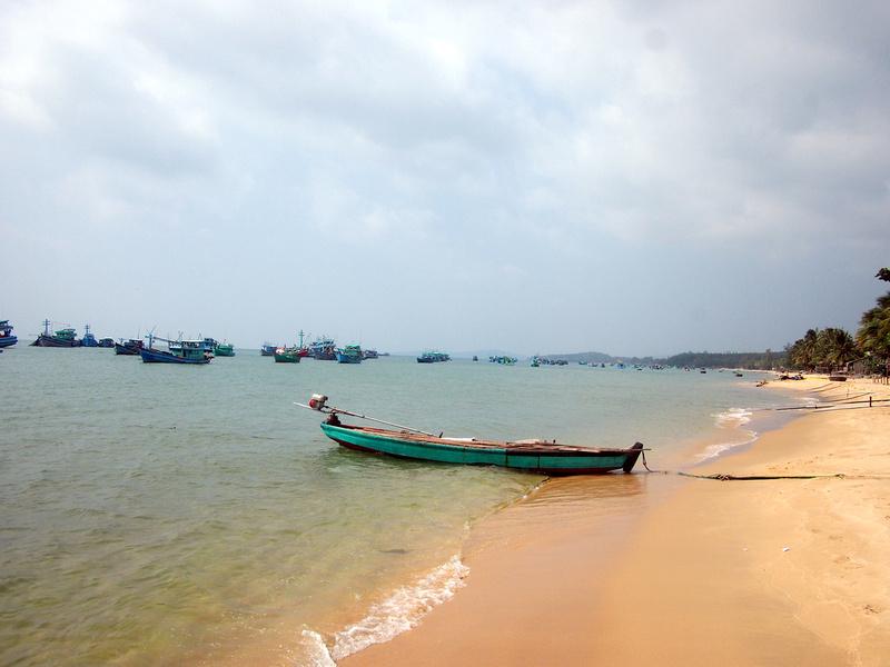 Fishing beach