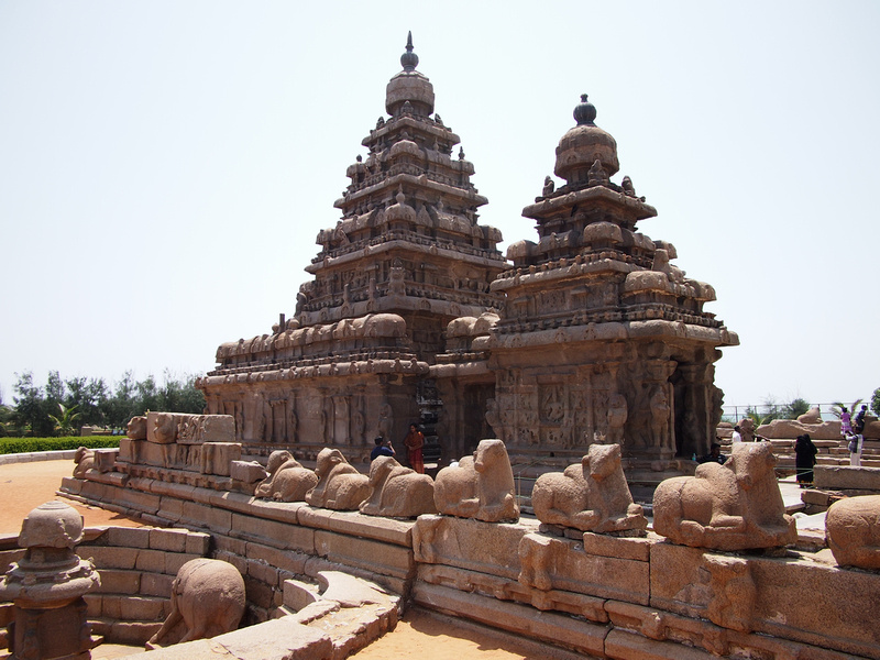Mamallapuram stone carvings and the most delicious drinks