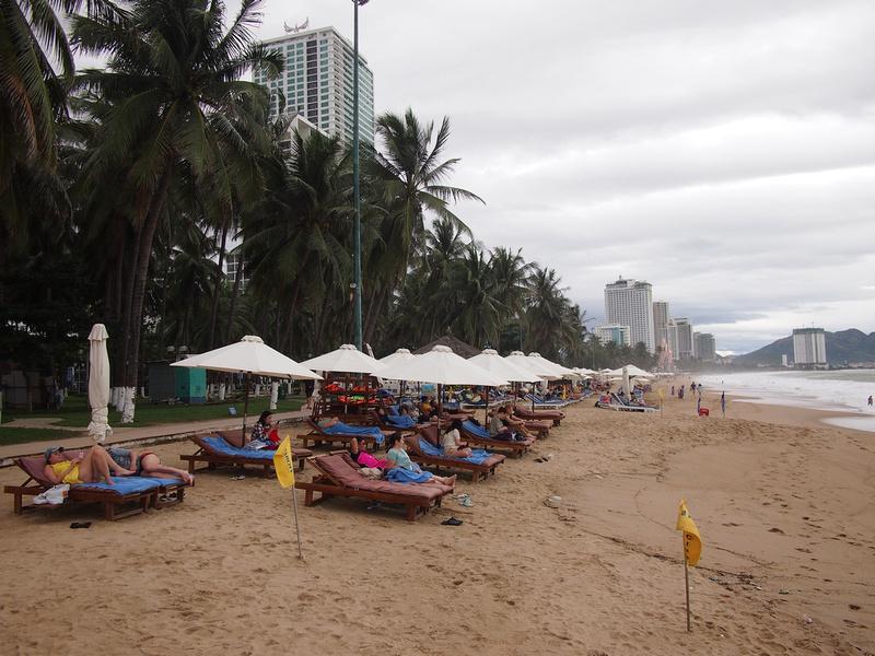 City by the beach