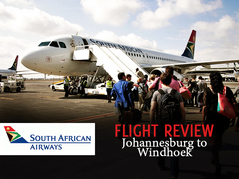 South African Airways - Johannesburg to Windhoek