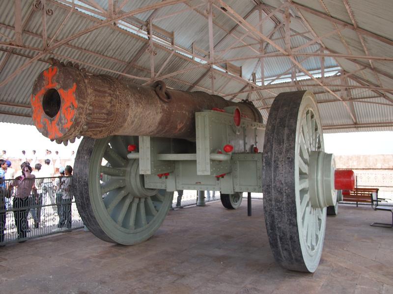 Jaivana Cannon - Jaigarh Fort