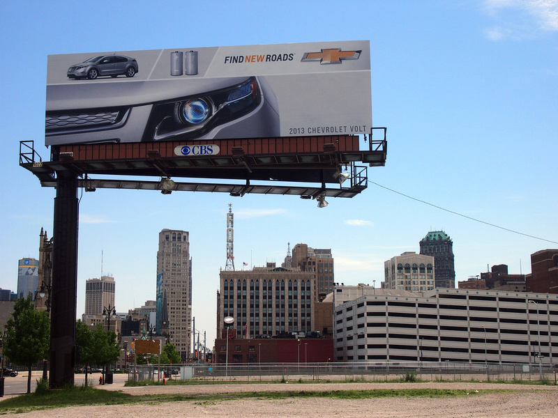 Chevrolet Volt Advertisement - Detroit