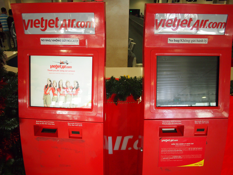 VietJet Air Checkin