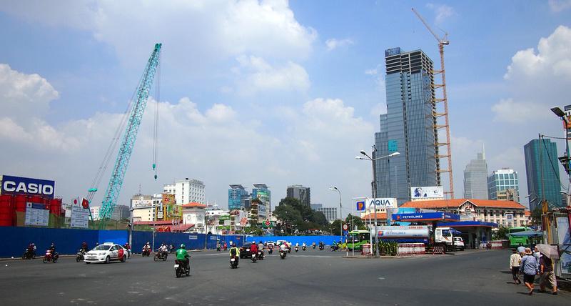 Saigon under construction