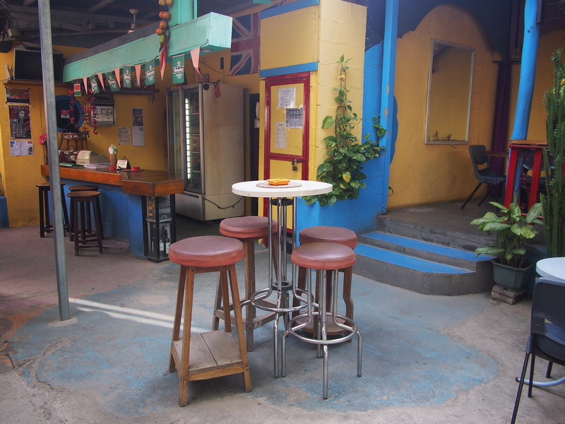 East Timor Backpackers bar and reception