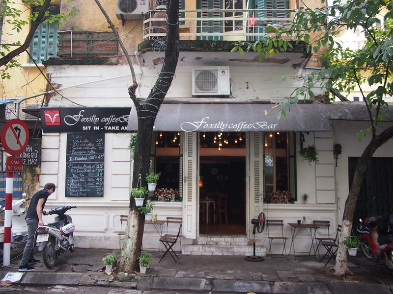 Foxilly Coffee Bar - Hanoi
