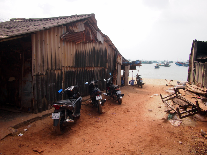Entrance to fishing village