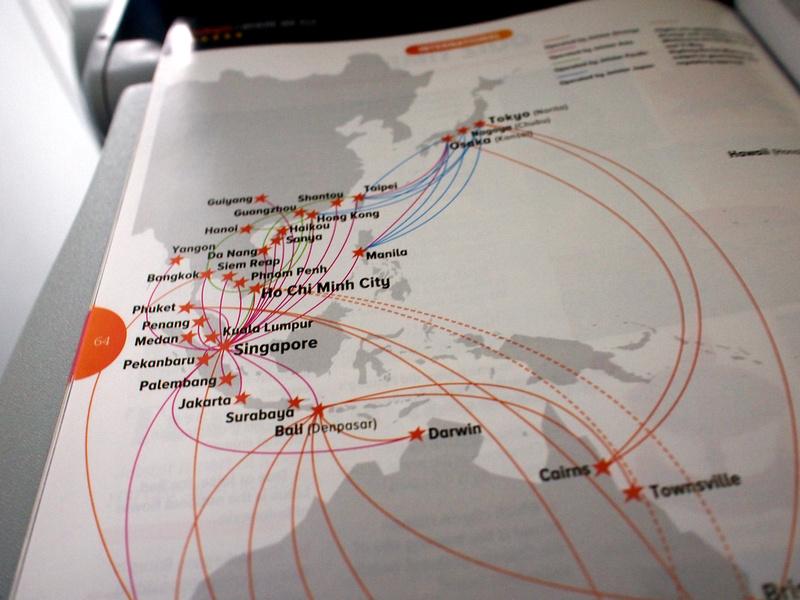 Jetstar Asia destinations