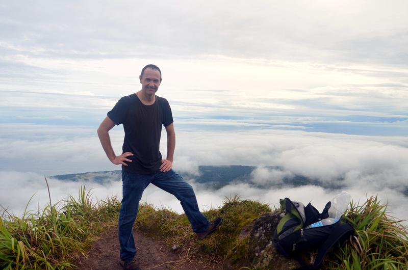 James on Mt Hibok-Hibok