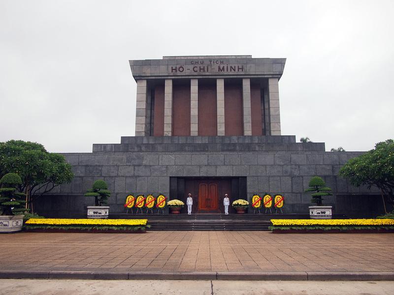 Ho Chi Minh Mausoleum, Hanoi - Vietnam