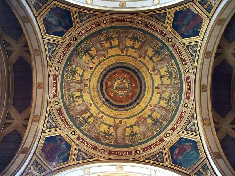 Saint-François-Xavier Ceiling Art