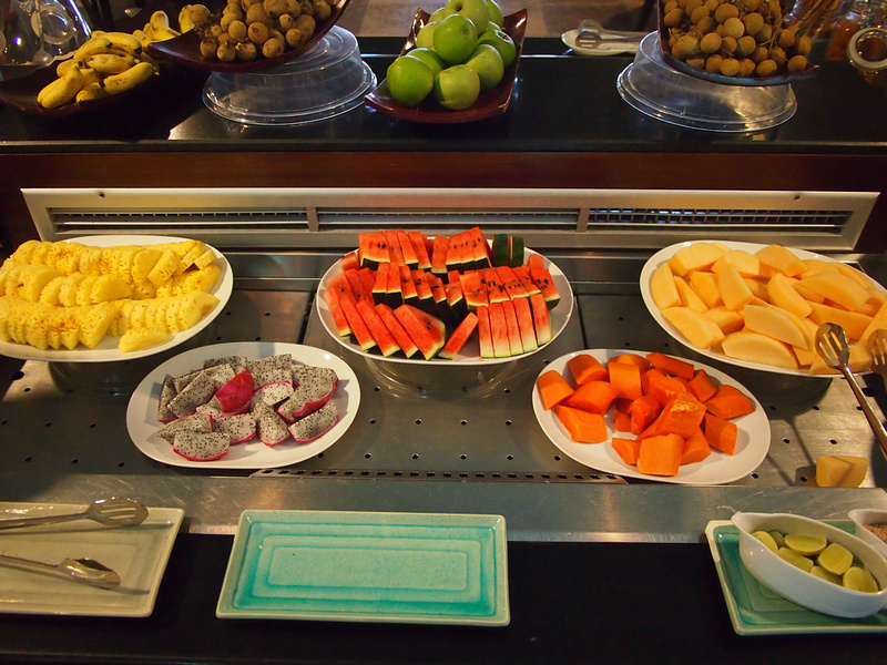 Tropical Fruit Breakfast - Radisson Blu Plaza Resort Phuket Panwa Beach