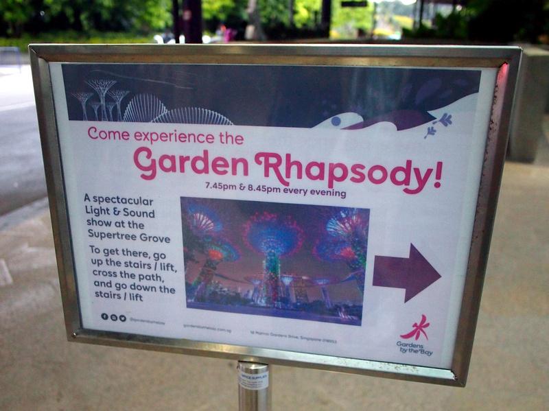 Garden Rhapsody times
