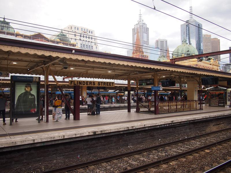 Flinders St platform