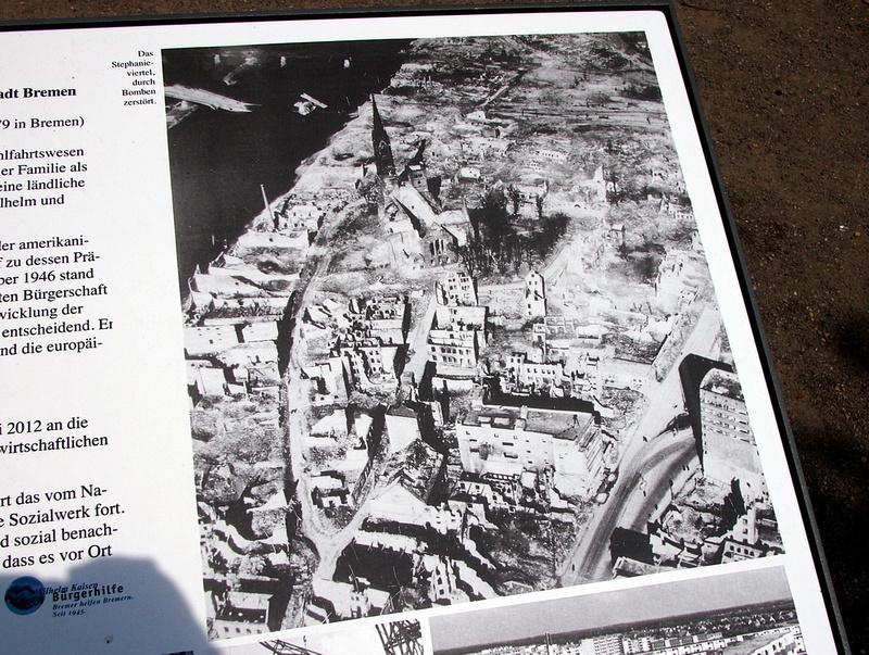 Bremen in 1945