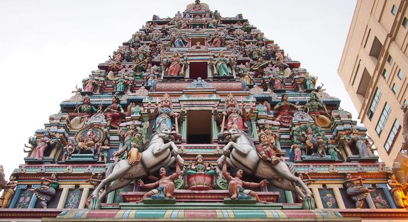 Sri Mahamariamman Temple, Kuala Lumpur - Malaysia