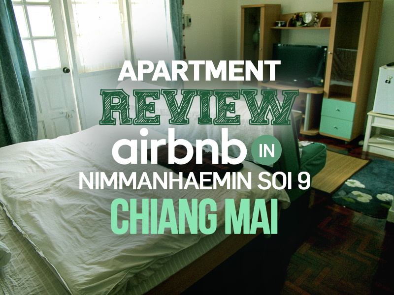 Apartment Review: Airbnb in Nimmanhaemin Soi 9, Chiang Mai