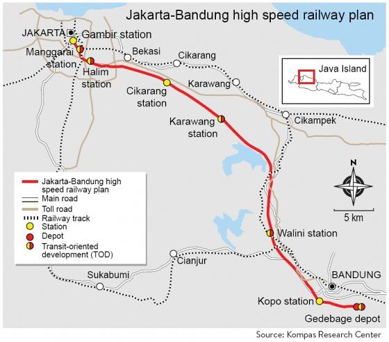 Jakarta – Bandung high-speed railway