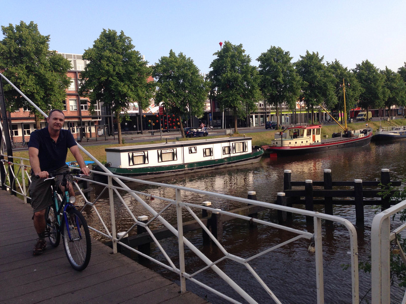 Cycling in Groningen