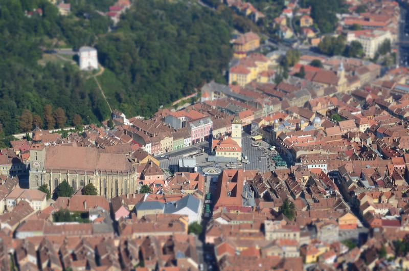 Old Town Brasov (in miniature), Brasov - Romania