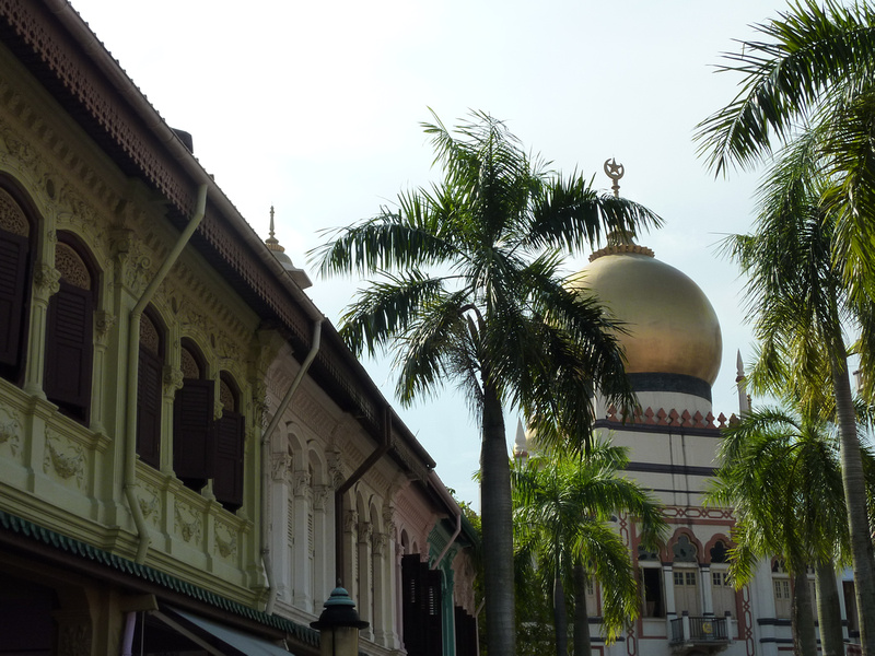 Bussorah Street and Sultan Mosque